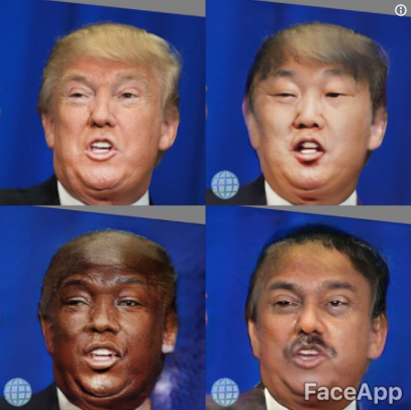 Selfie app FaceApp (iOS, Android) removes a filter that changes a